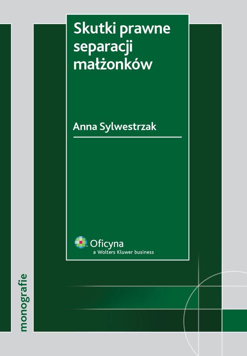 Skutki prawne separacji małżonków - Ebook (Książka PDF) do pobrania w formacie PDF