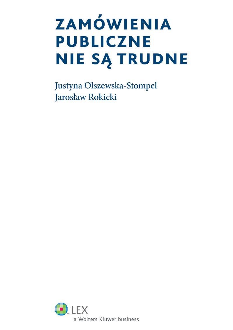 Zamówienia publiczne nie są trudne - Ebook (Książka PDF) do pobrania w formacie PDF