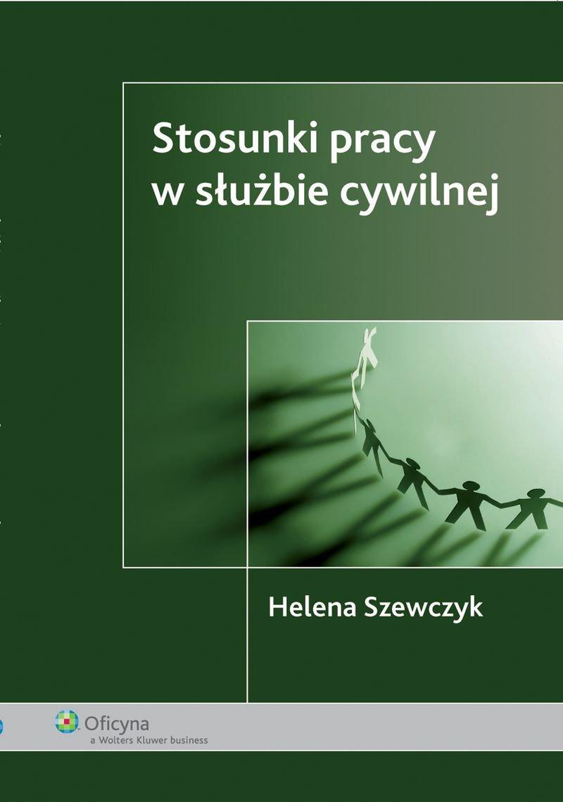 Stosunki pracy w służbie cywilnej - Ebook (Książka PDF) do pobrania w formacie PDF