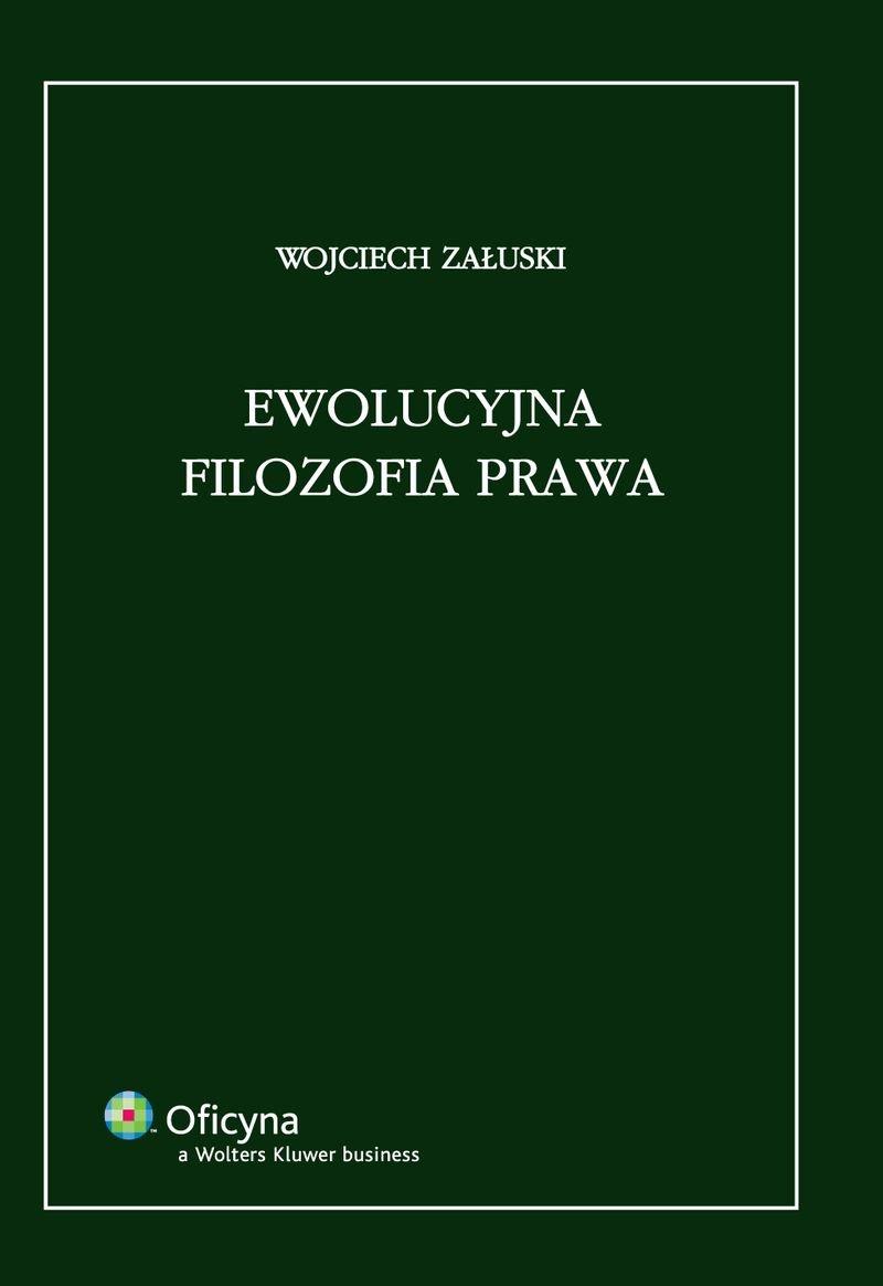 Ewolucyjna filozofia prawa - Ebook (Książka PDF) do pobrania w formacie PDF