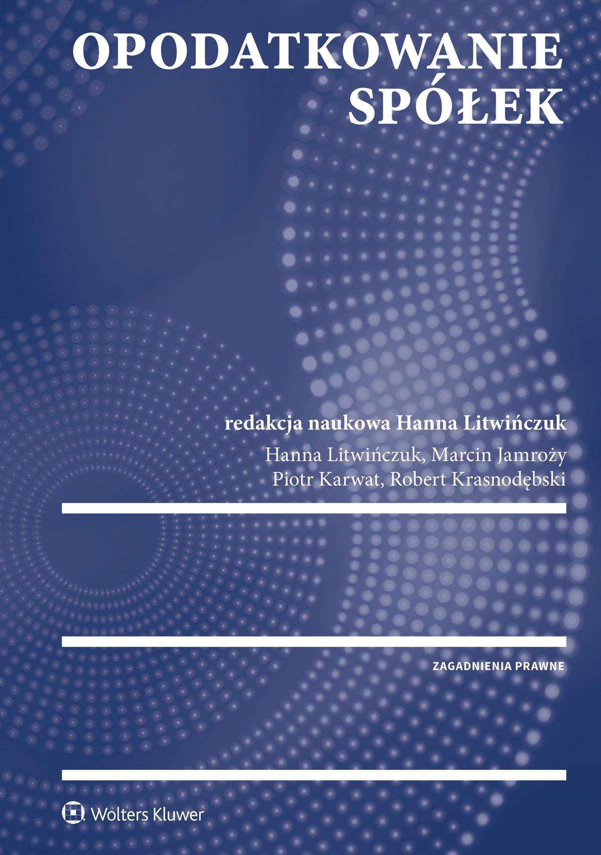 Opodatkowanie spółek - Ebook (Książka PDF) do pobrania w formacie PDF