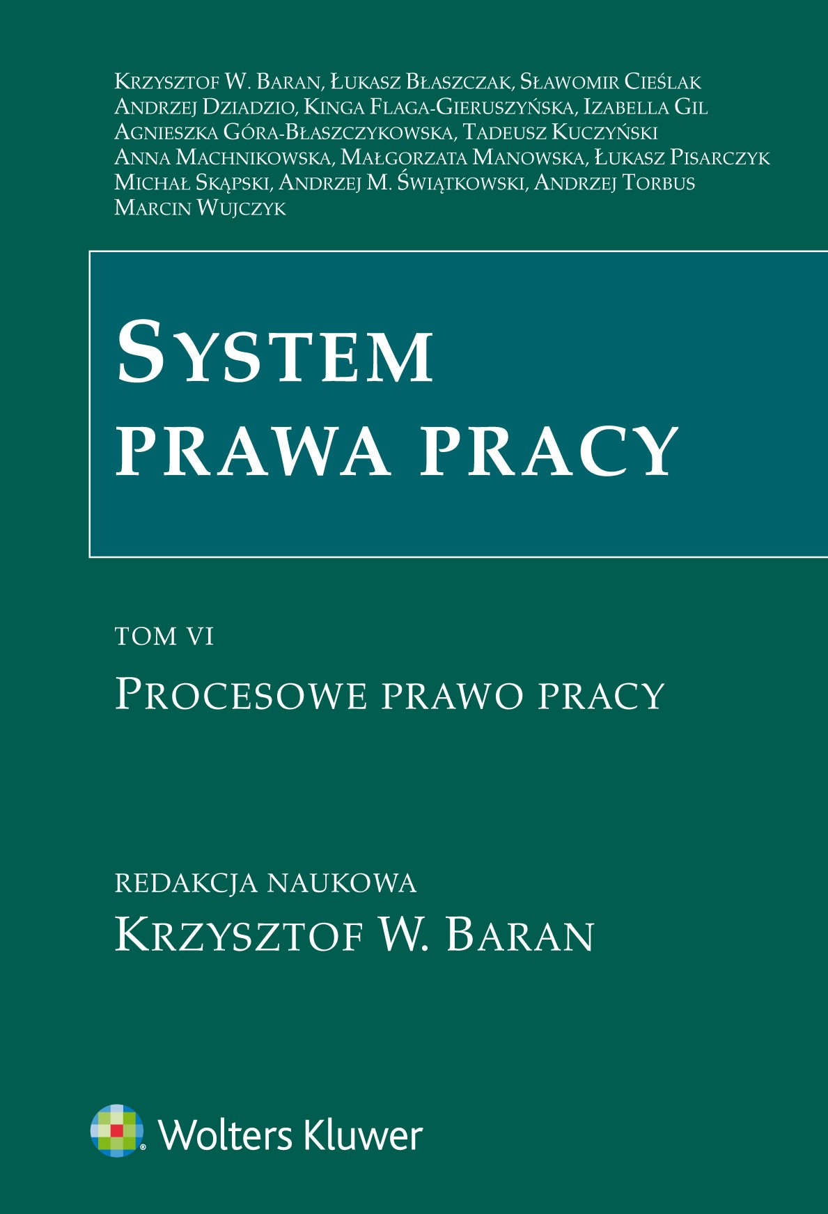System prawa pracy. TOM VI. Procesowe prawo pracy - Ebook (Książka PDF) do pobrania w formacie PDF