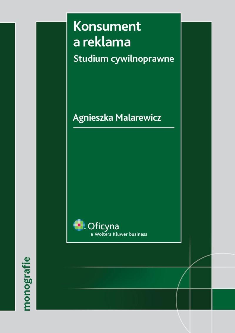 Konsument a reklama. Studium cywilnoprawne - Ebook (Książka PDF) do pobrania w formacie PDF