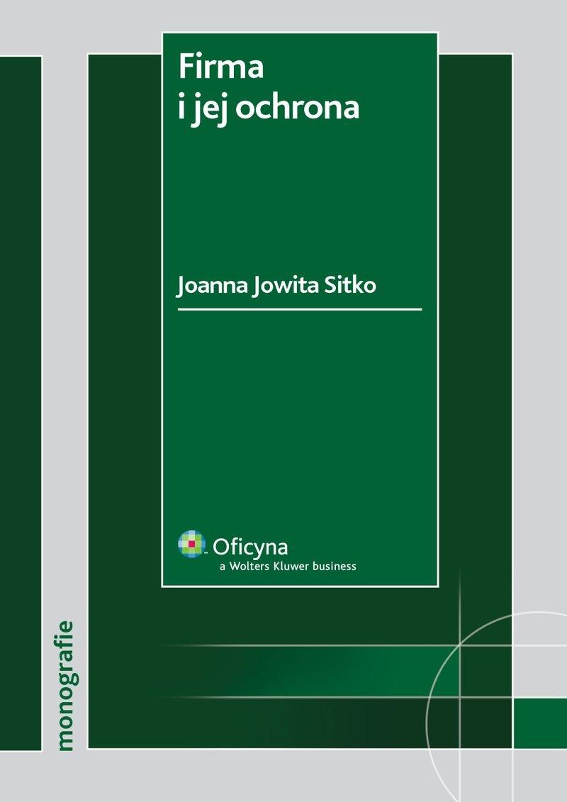 Firma i jej ochrona - Ebook (Książka PDF) do pobrania w formacie PDF