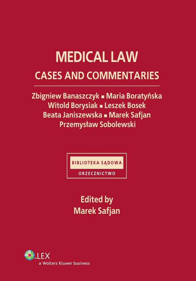 Medical law. Cases and commentaries - Ebook (Książka PDF) do pobrania w formacie PDF