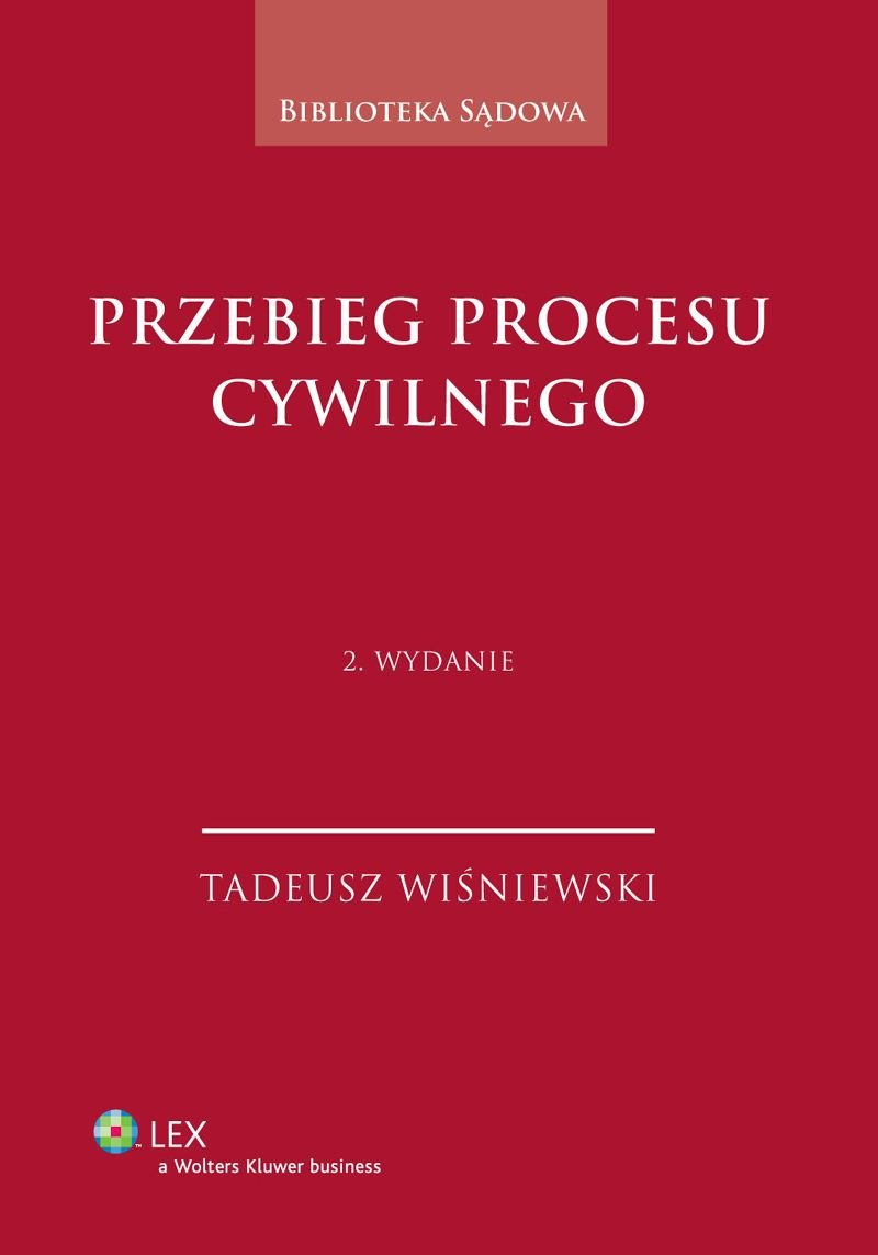 Przebieg procesu cywilnego - Ebook (Książka PDF) do pobrania w formacie PDF