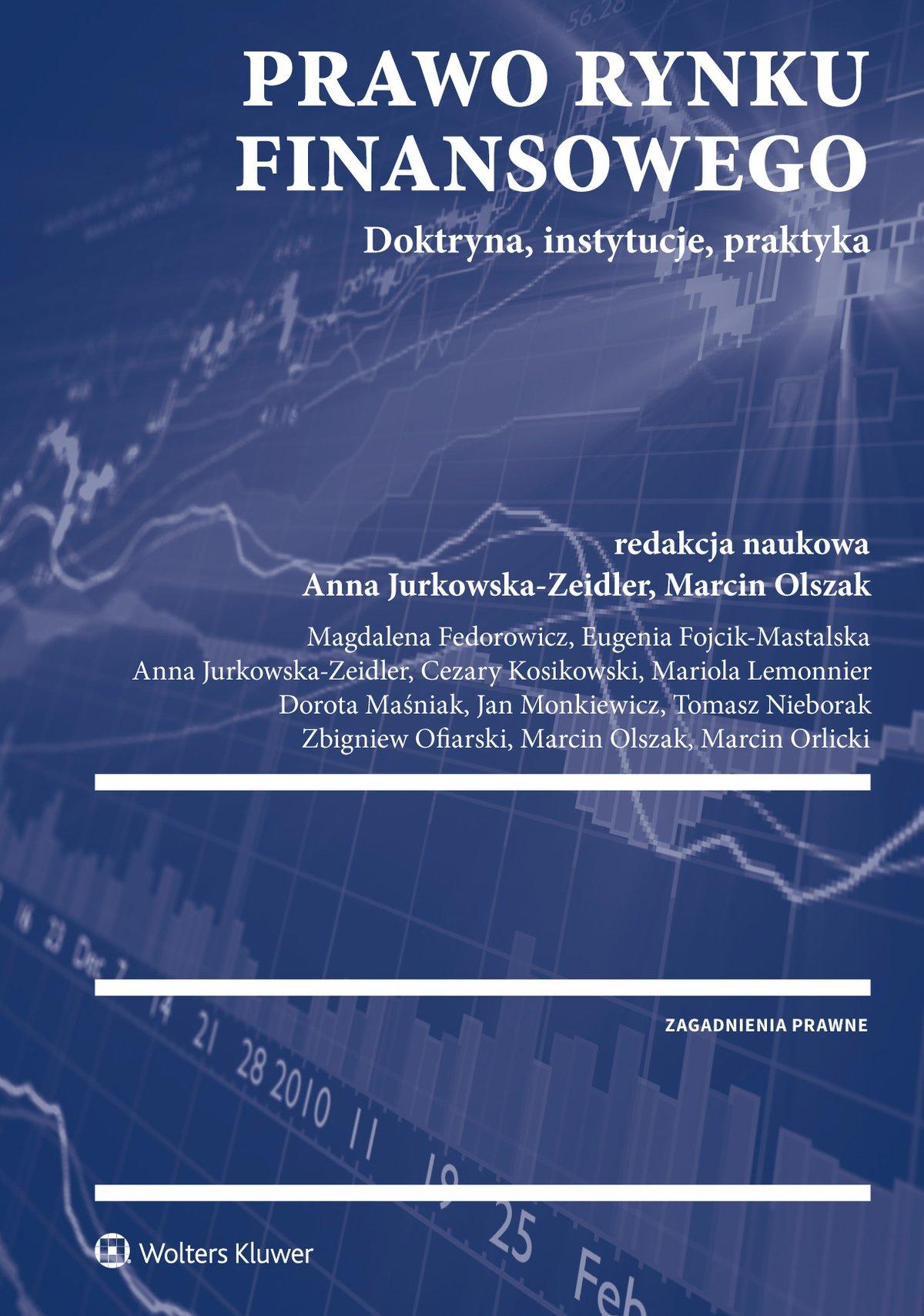 Prawo rynku finansowego - Ebook (Książka PDF) do pobrania w formacie PDF
