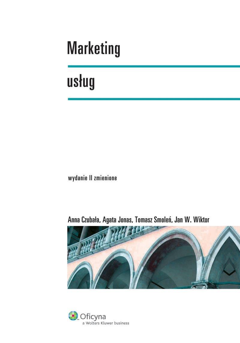 Marketing usług - Ebook (Książka PDF) do pobrania w formacie PDF