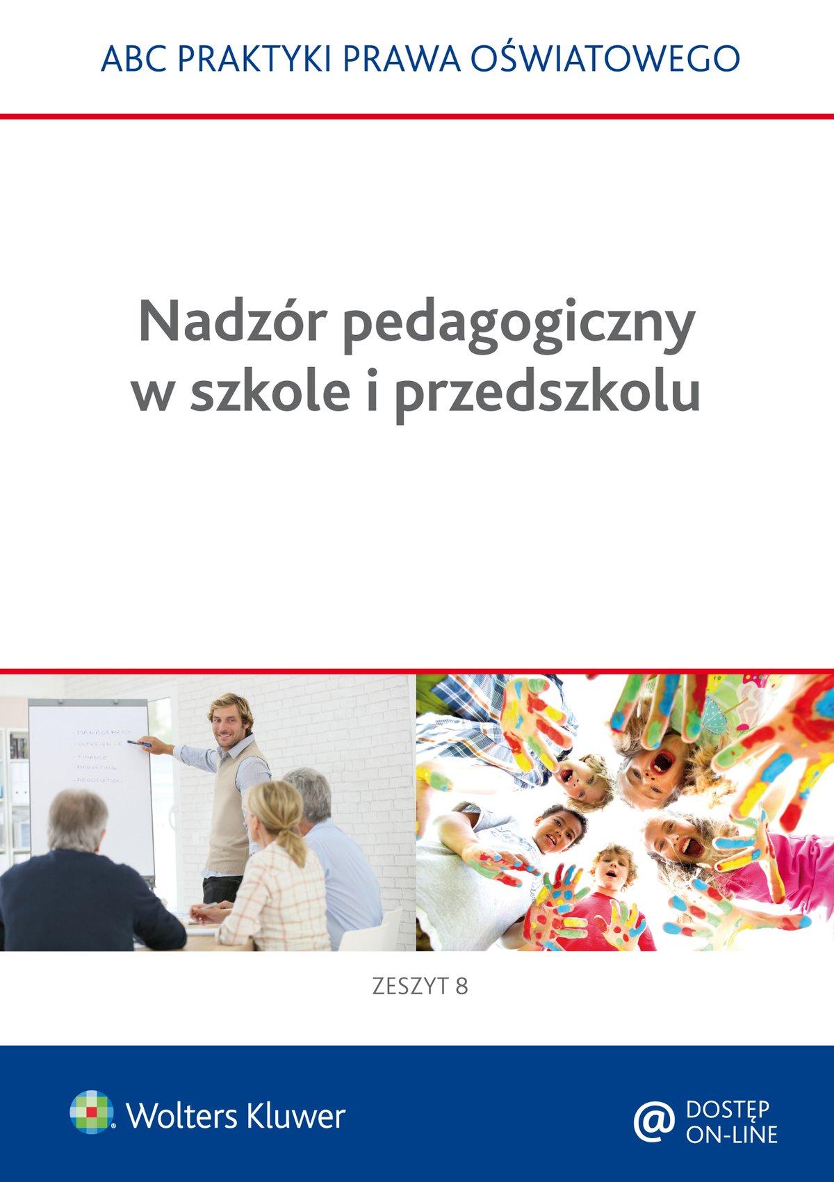 Nadzór pedagogiczny w szkole i przedszkolu - Ebook (Książka PDF) do pobrania w formacie PDF