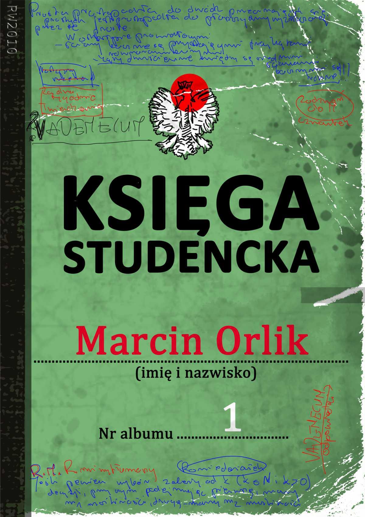 Księga studencka - Ebook (Książka EPUB) do pobrania w formacie EPUB