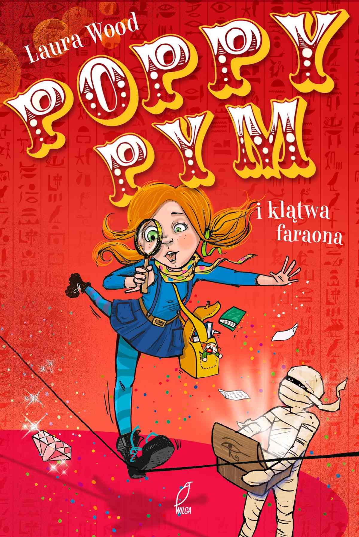 Poppy Pym i klątwa faraona - Ebook (Książka na Kindle) do pobrania w formacie MOBI
