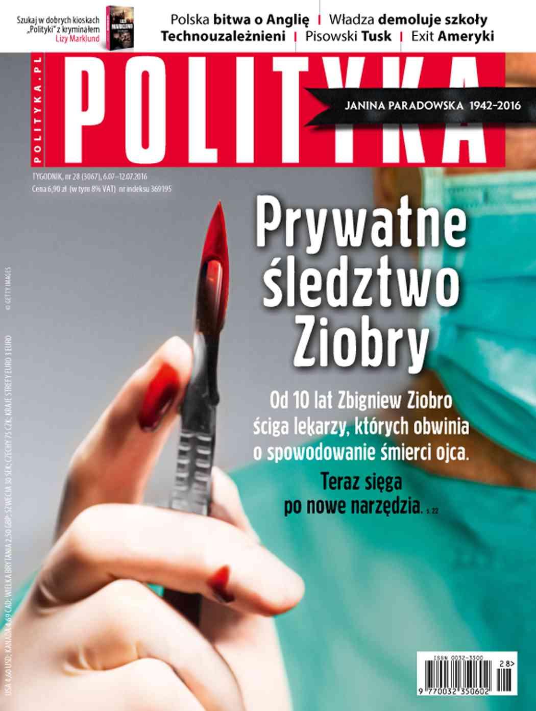 Polityka nr 28/2016 - Ebook (Książka PDF) do pobrania w formacie PDF