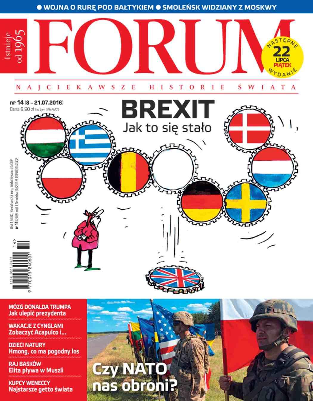 Forum nr 14/2016 - Ebook (Książka PDF) do pobrania w formacie PDF