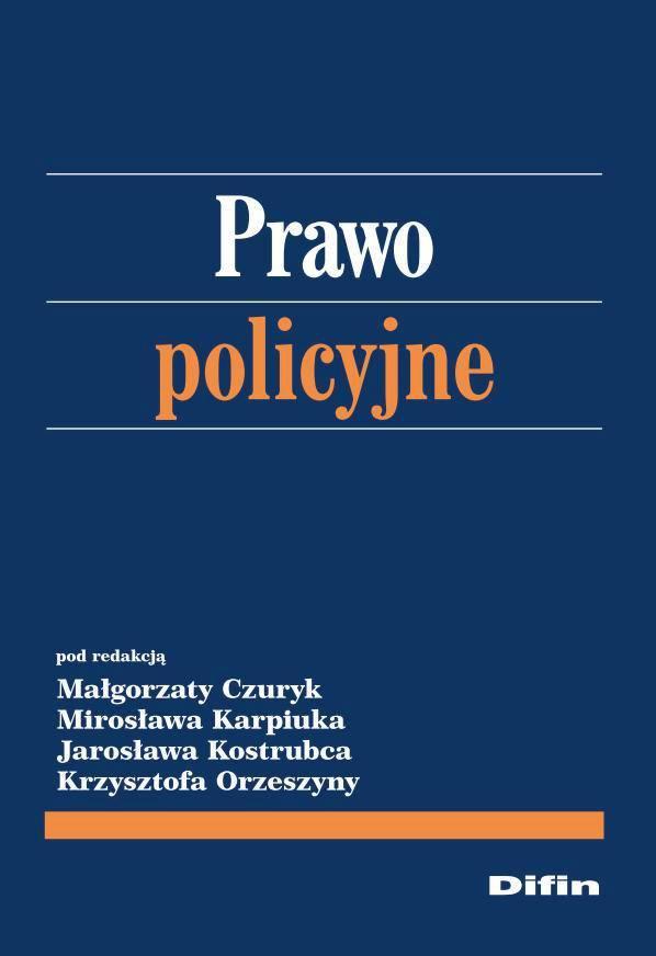 Prawo policyjne - Ebook (Książka PDF) do pobrania w formacie PDF