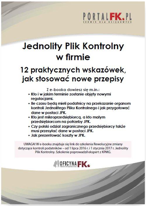 Jednolity Plik Kontrolny w firmie + szkolenie video - Ebook (Książka PDF) do pobrania w formacie PDF