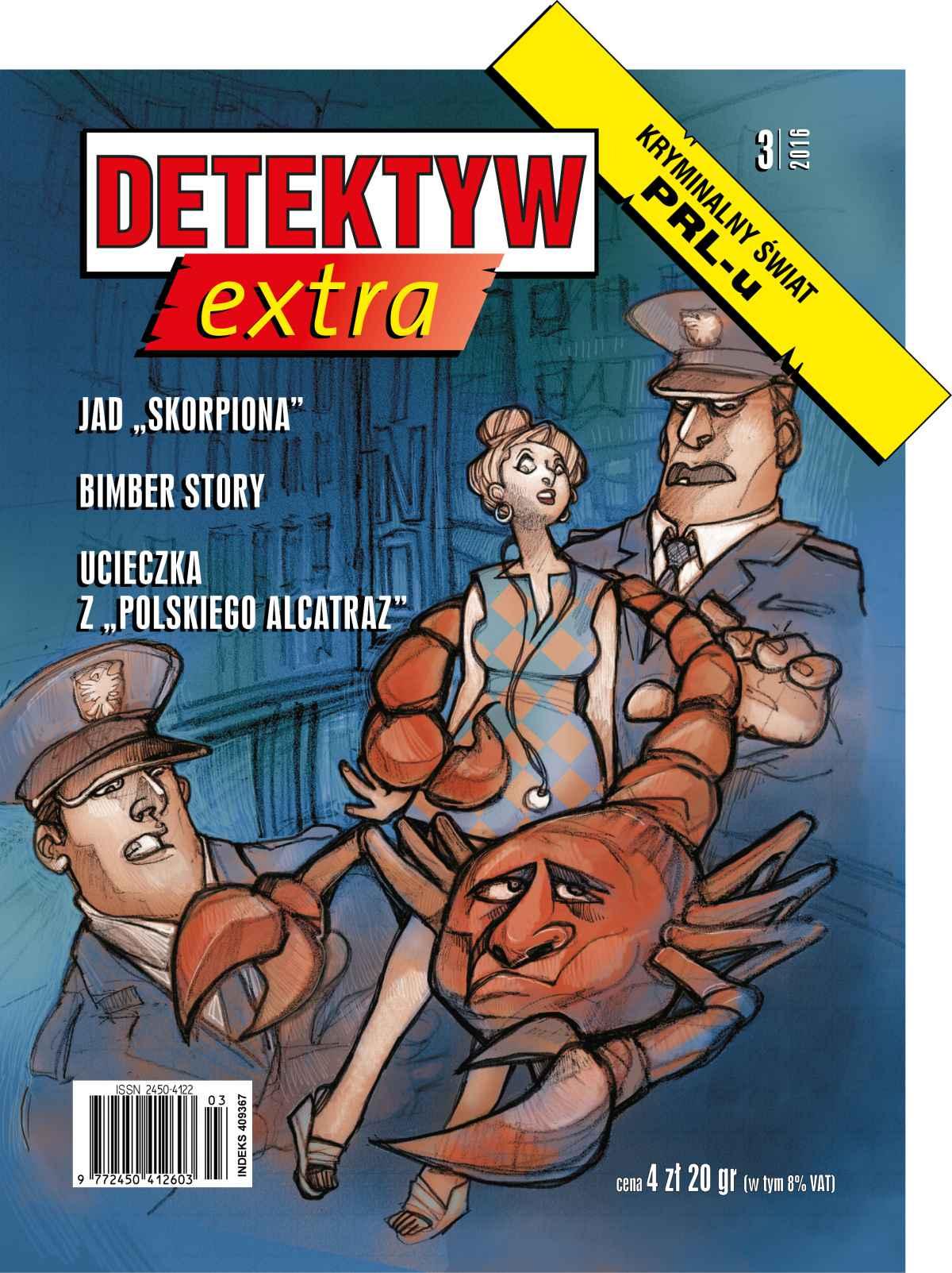 Detektyw Extra 3/2016 - Ebook (Książka na Kindle) do pobrania w formacie MOBI