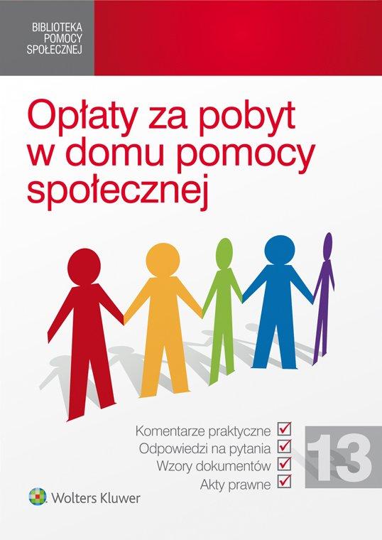 Opłaty za pobyt w domu pomocy społecznej - Ebook (Książka PDF) do pobrania w formacie PDF