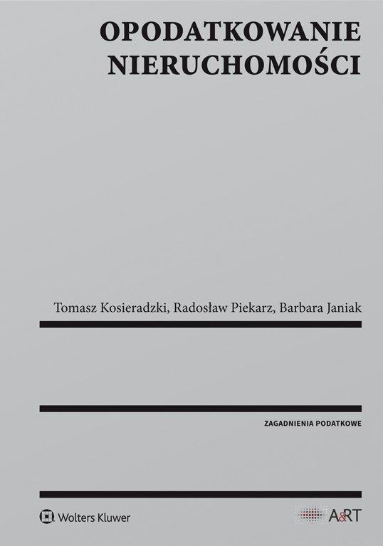 Opodatkowanie nieruchomości - Ebook (Książka PDF) do pobrania w formacie PDF