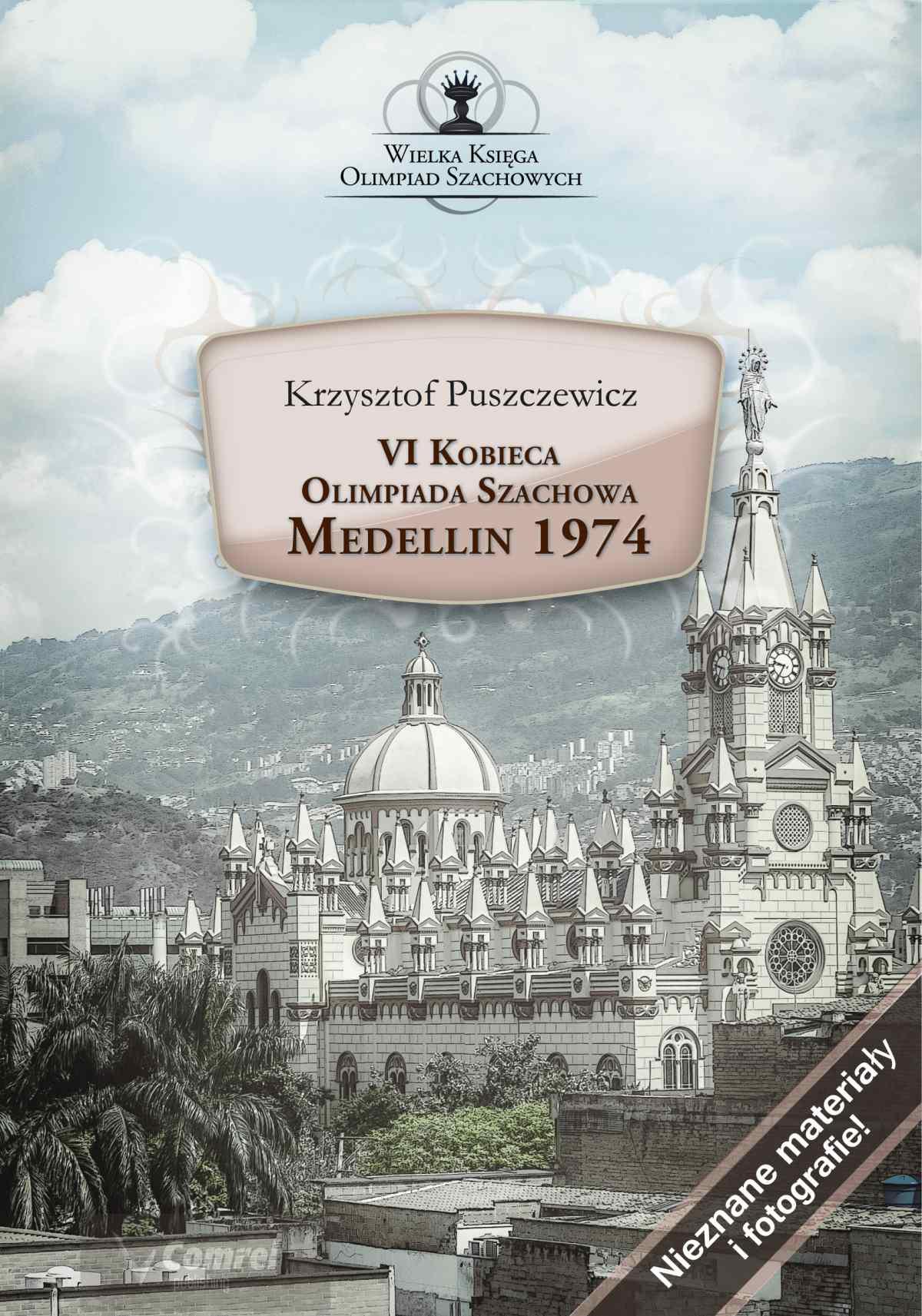 VI Kobieca Olimpiada Szachowa. Medellin 1974 - Ebook (Książka PDF) do pobrania w formacie PDF