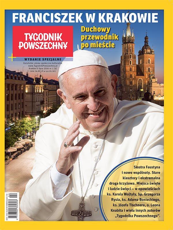 Franciszek w Krakowie. Duchowy przewodnik po mieście - Ebook (Książka na Kindle) do pobrania w formacie MOBI