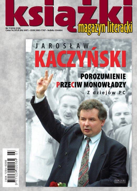 Magazyn Literacki KSIĄŻKI 7/2016 - Ebook (Książka PDF) do pobrania w formacie PDF