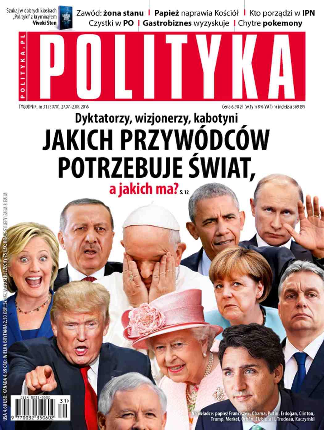 Polityka nr 31/2016 - Ebook (Książka PDF) do pobrania w formacie PDF