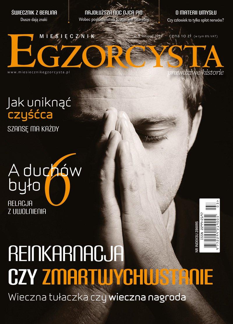 Miesięcznik Egzorcysta. Listopad 2012 - Ebook (Książka PDF) do pobrania w formacie PDF
