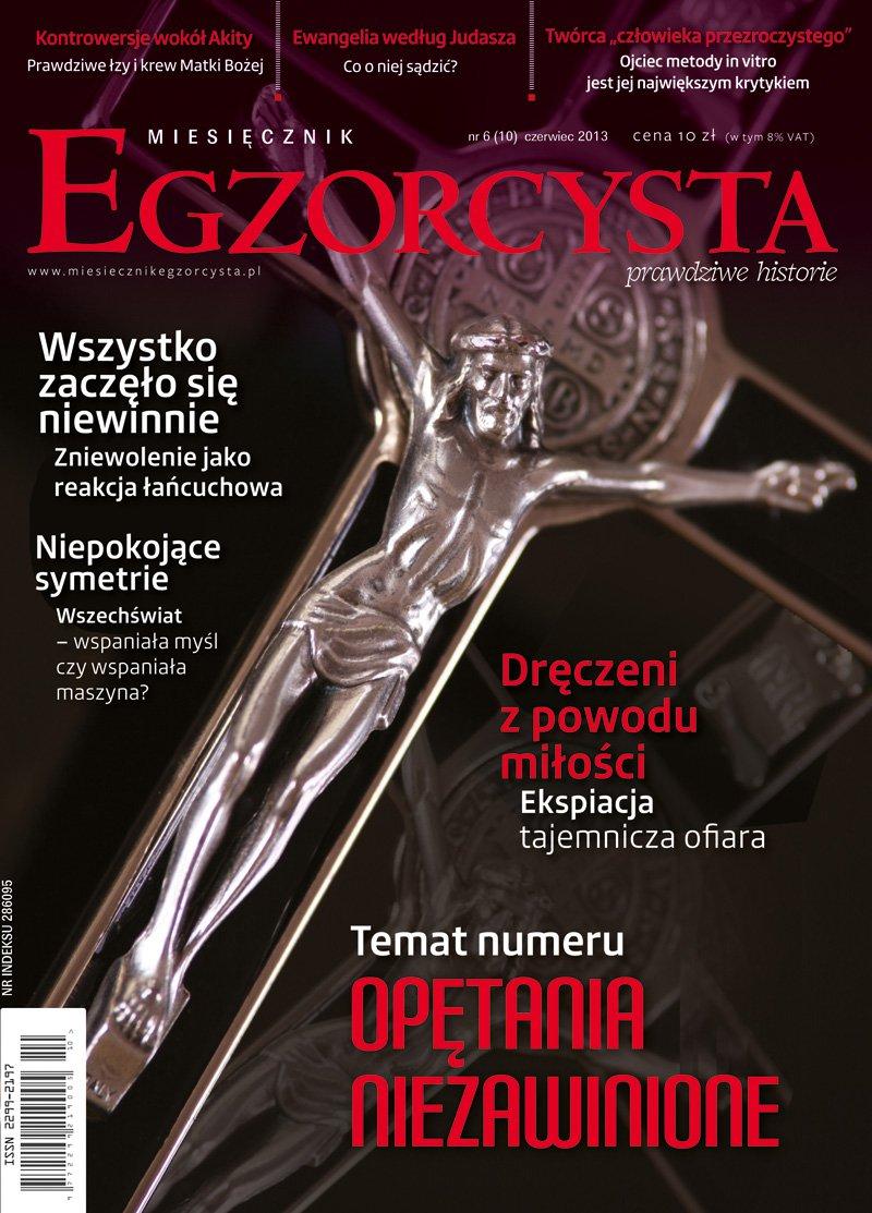 Miesięcznik Egzorcysta. Czerwiec 2013 - Ebook (Książka PDF) do pobrania w formacie PDF