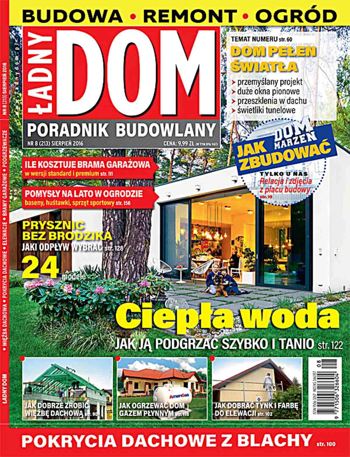 Ładny Dom 8/2016 - Ebook (Książka PDF) do pobrania w formacie PDF