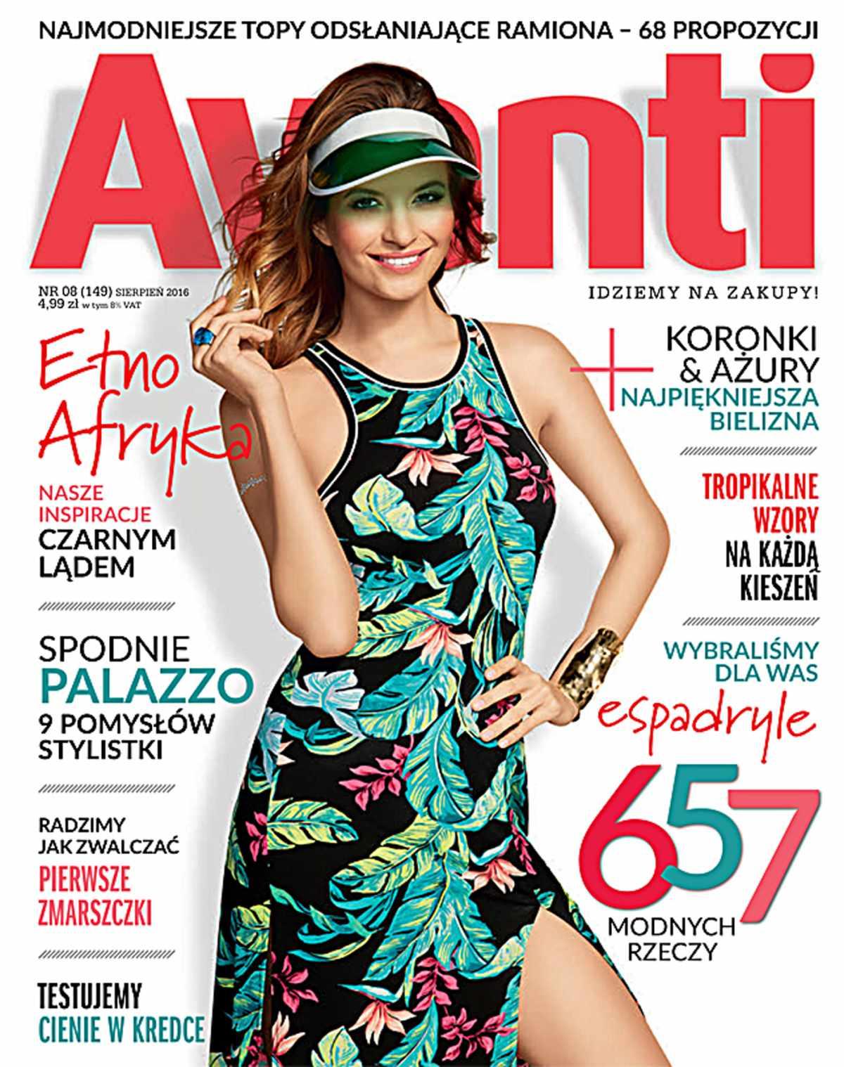Avanti 8/2016 - Ebook (Książka PDF) do pobrania w formacie PDF