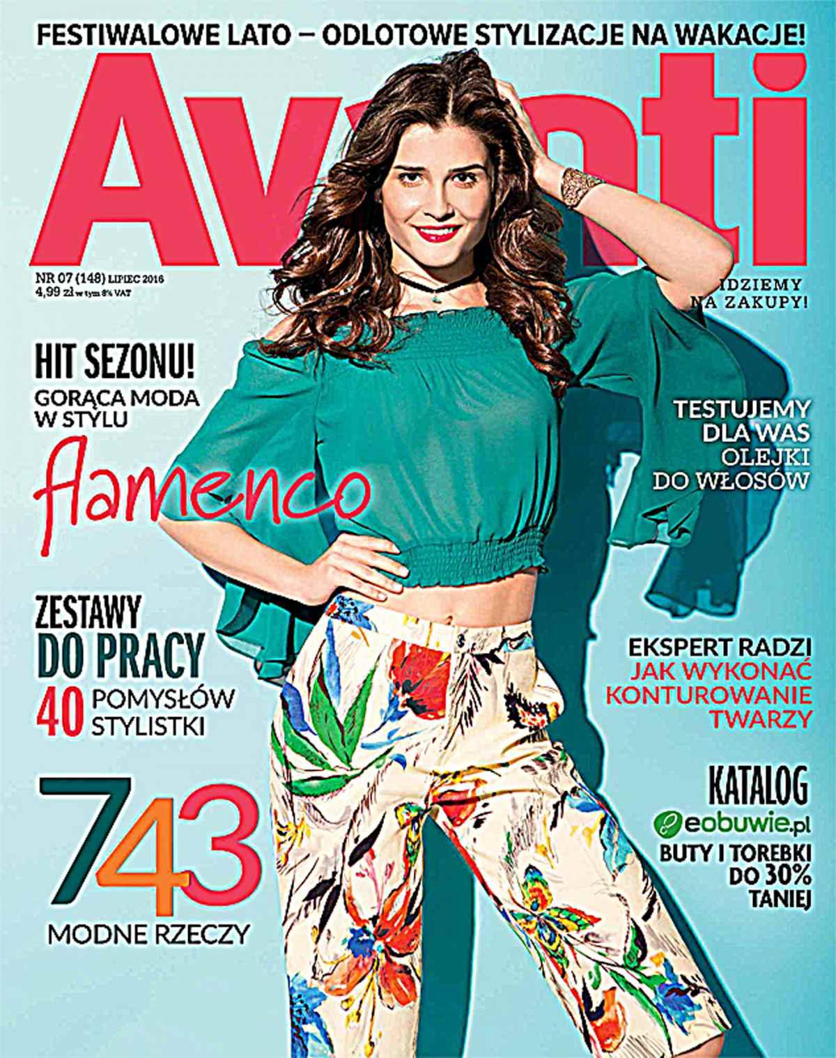 Avanti 7/2016 - Ebook (Książka PDF) do pobrania w formacie PDF