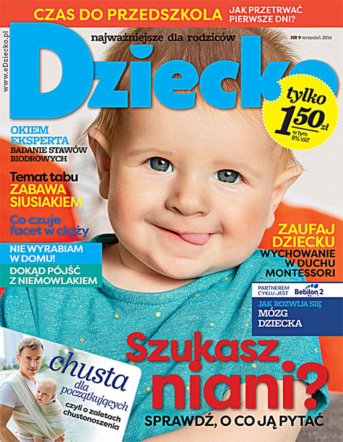 Dziecko 9/2016 - Ebook (Książka PDF) do pobrania w formacie PDF