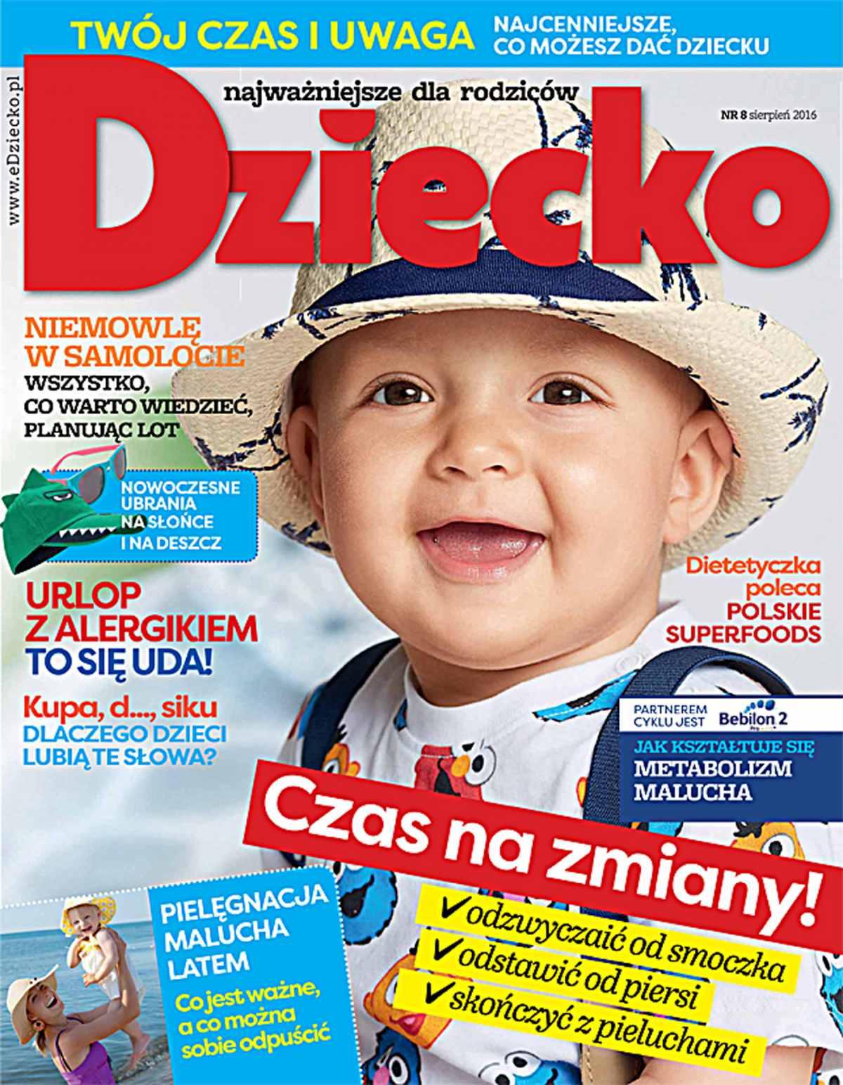 Dziecko 8/2016 - Ebook (Książka PDF) do pobrania w formacie PDF