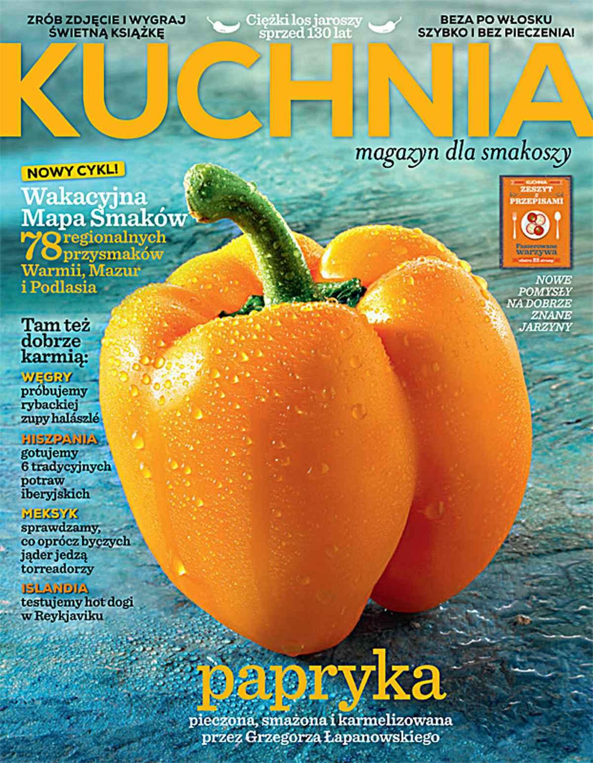 Kuchnia 8/2016 - Ebook (Książka PDF) do pobrania w formacie PDF