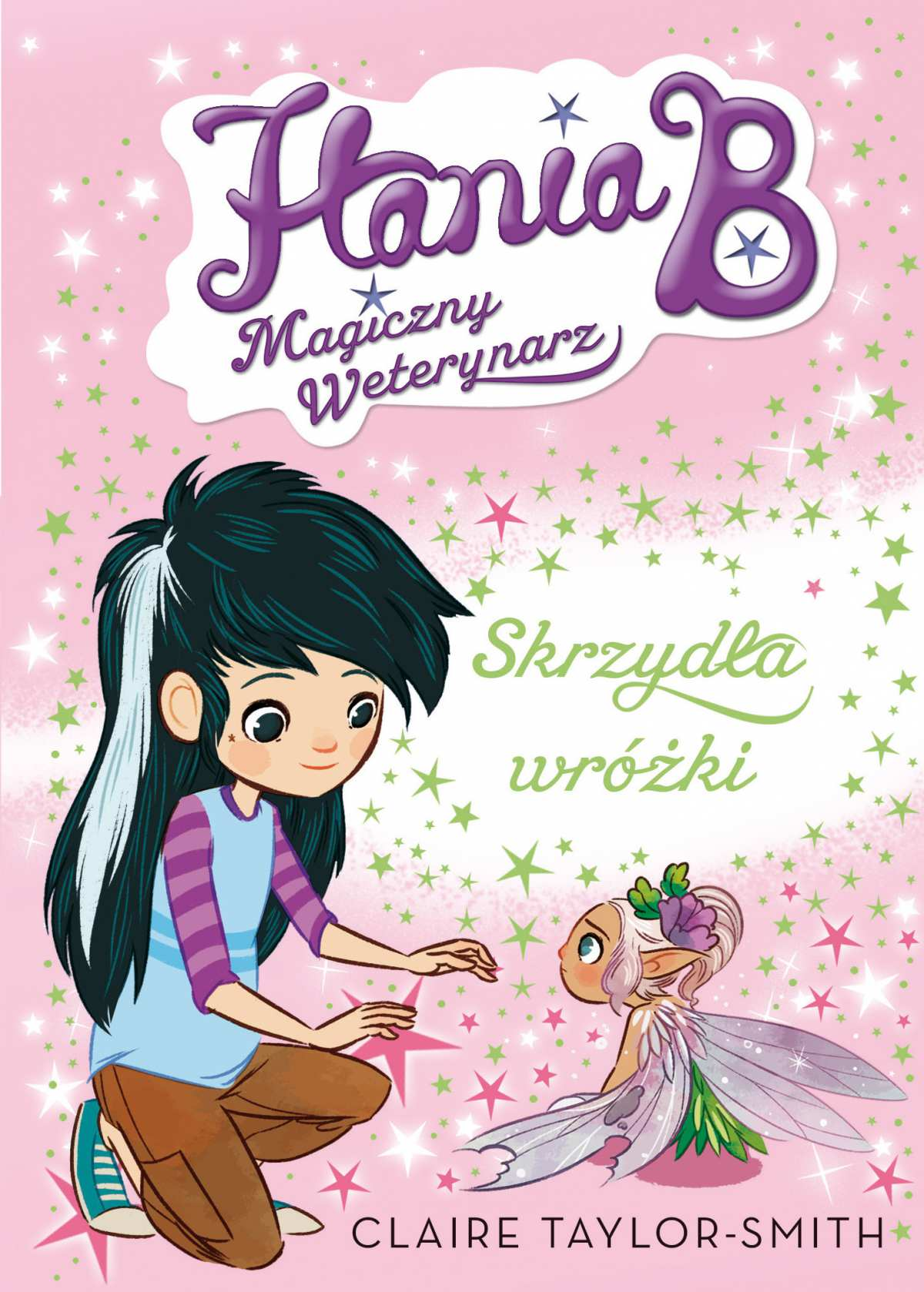 Hania B. Magiczny weterynarz. Skrzydła wróżki - Ebook (Książka na Kindle) do pobrania w formacie MOBI