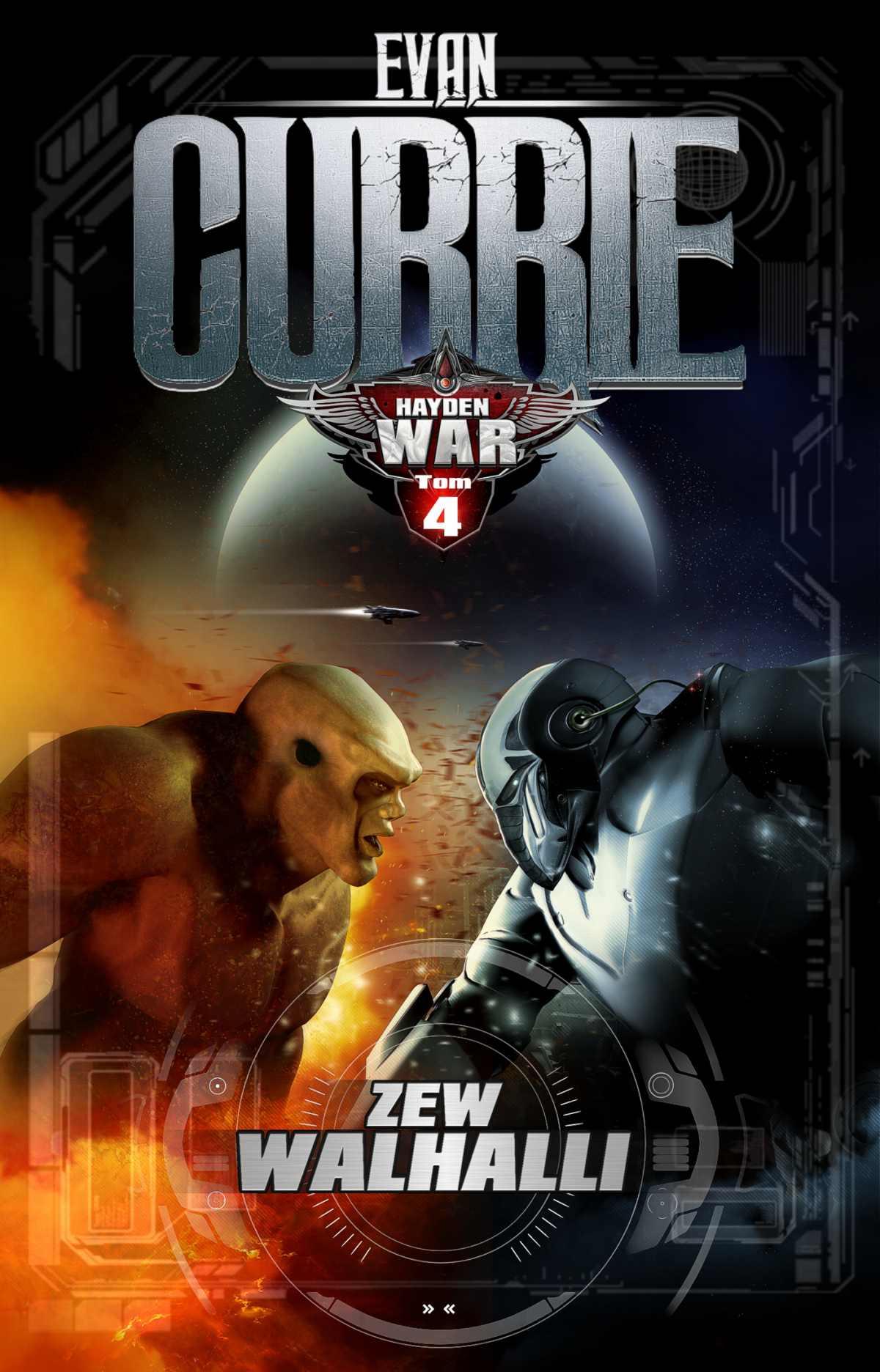 Hayden War. Tom 4. Zew Walhalli - Ebook (Książka na Kindle) do pobrania w formacie MOBI