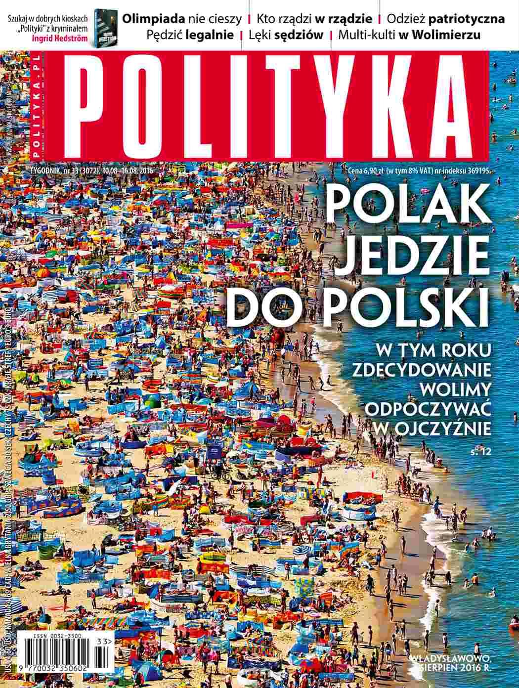 Polityka nr 33/2016 - Ebook (Książka PDF) do pobrania w formacie PDF
