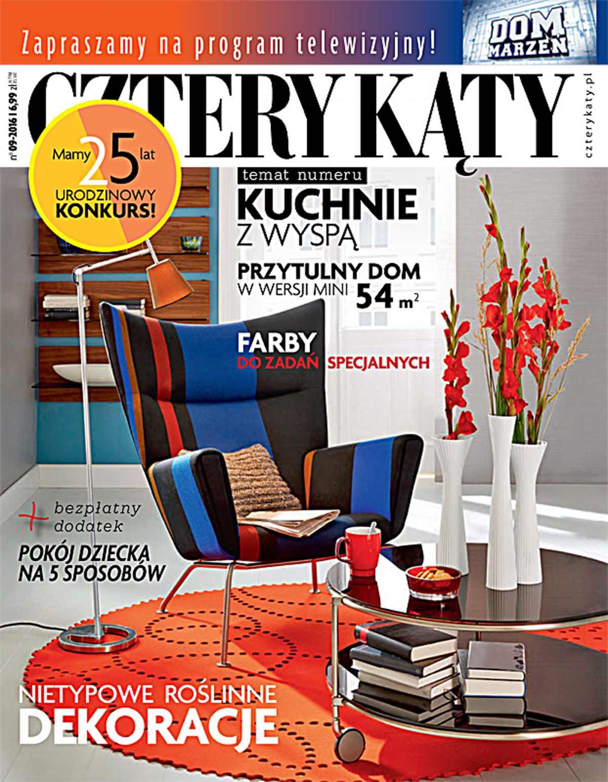 Cztery Kąty 9/2016 - Ebook (Książka PDF) do pobrania w formacie PDF