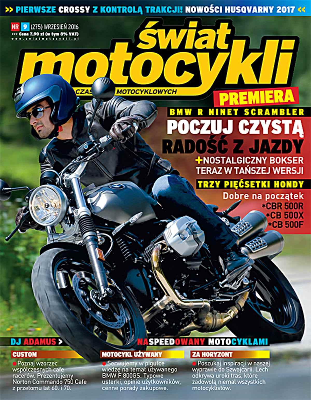 Świat Motocykli 9/2016 - Ebook (Książka PDF) do pobrania w formacie PDF