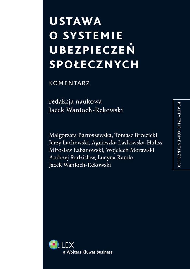 Ustawa o systemie ubezpieczeń społecznych. Komentarz - Ebook (Książka EPUB) do pobrania w formacie EPUB