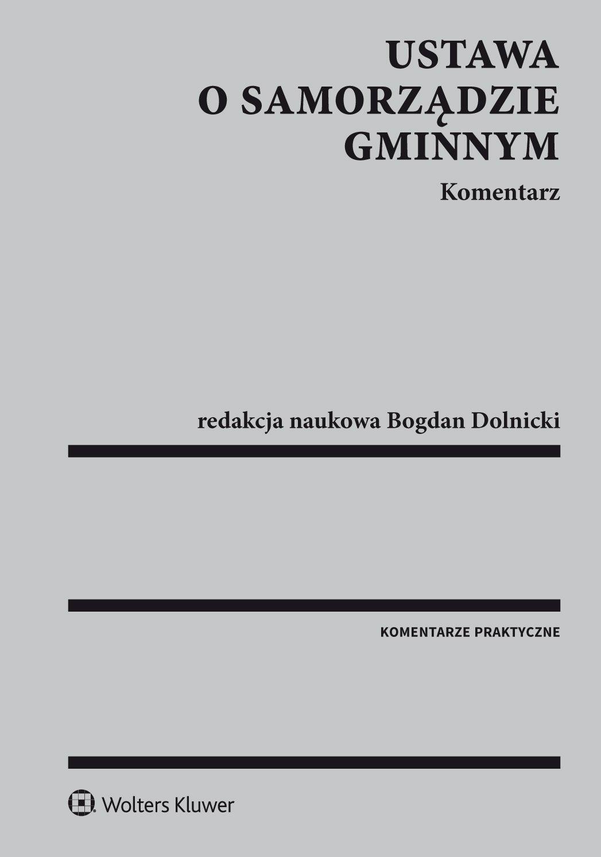 Ustawa o samorządzie gminnym. Komentarz - Ebook (Książka EPUB) do pobrania w formacie EPUB