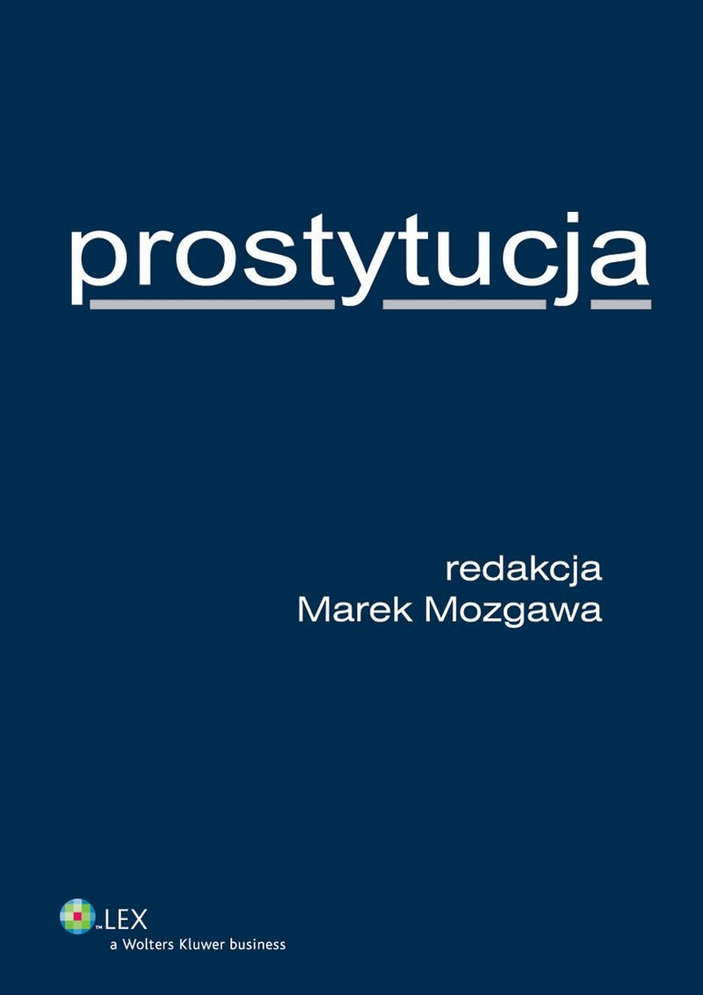 Prostytucja - Ebook (Książka EPUB) do pobrania w formacie EPUB