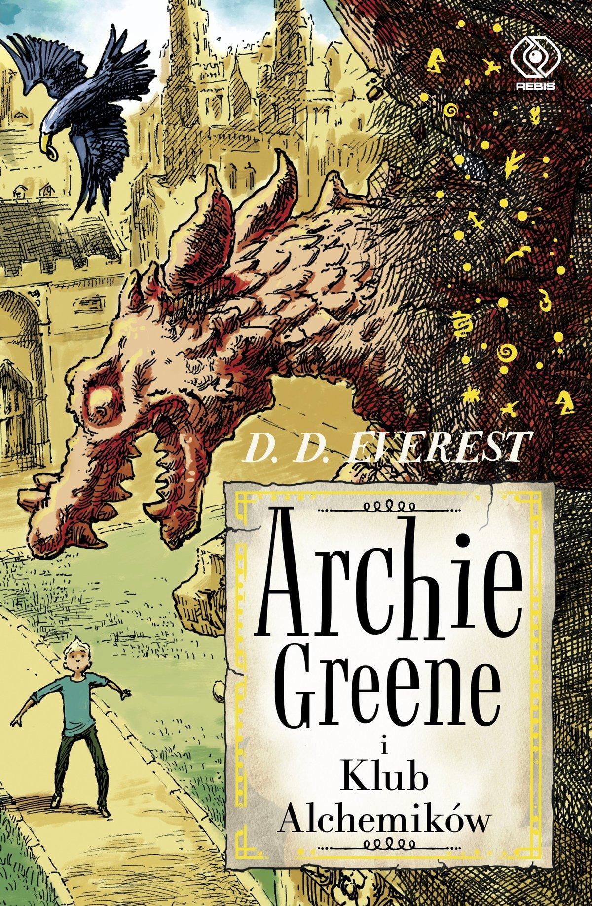 Archie Greene i Klub Alchemików - Ebook (Książka EPUB) do pobrania w formacie EPUB