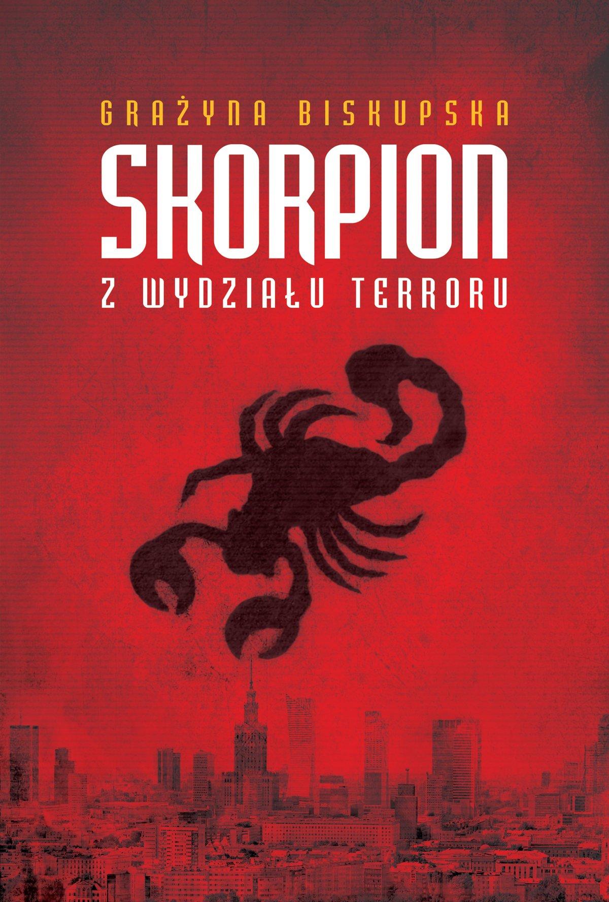 Skorpion z Wydziału Terroru - Ebook (Książka EPUB) do pobrania w formacie EPUB