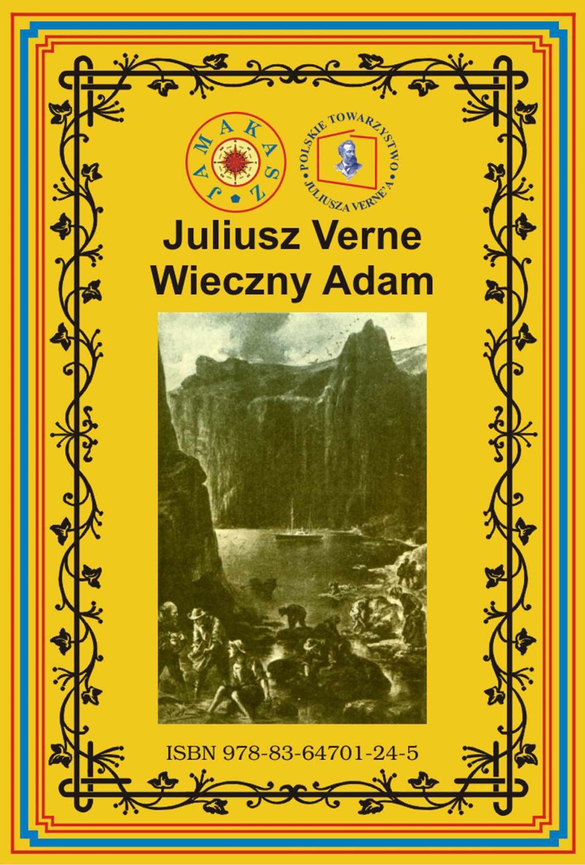 Wieczny Adam - Ebook (Książka EPUB) do pobrania w formacie EPUB