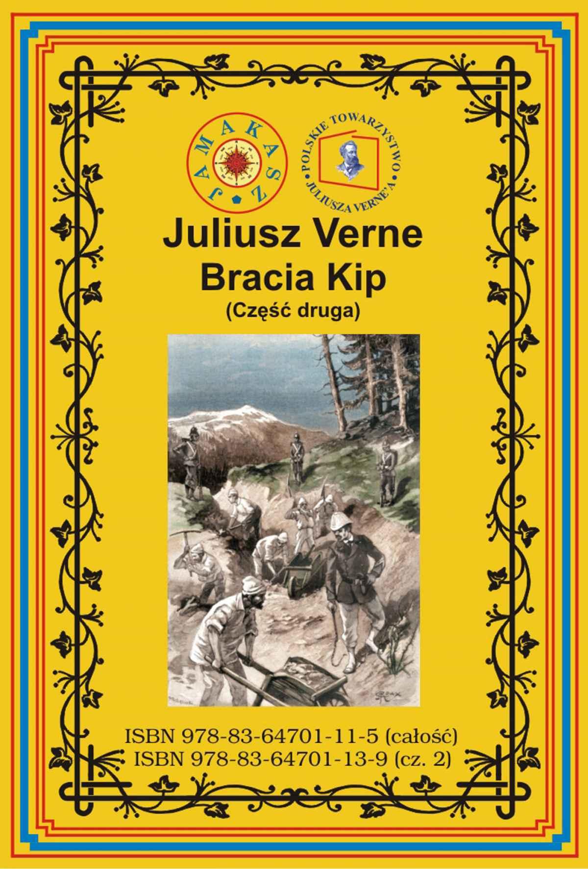 Bracia Kip. Część druga - Ebook (Książka PDF) do pobrania w formacie PDF