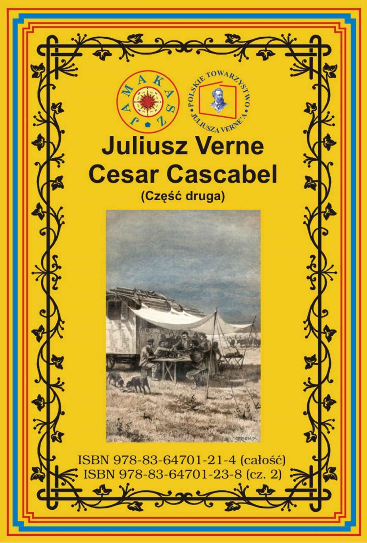 Cesar Cascabel. Część druga - Ebook (Książka na Kindle) do pobrania w formacie MOBI