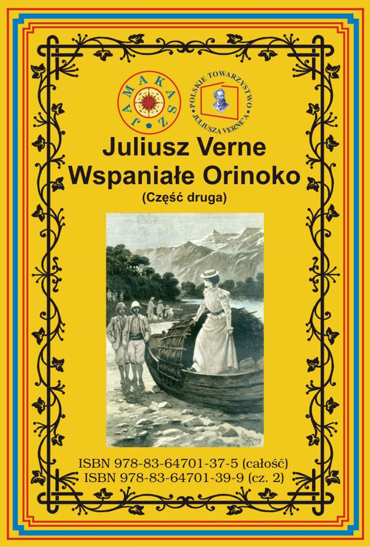 Wspaniałe Orinoko. Część druga - Ebook (Książka na Kindle) do pobrania w formacie MOBI