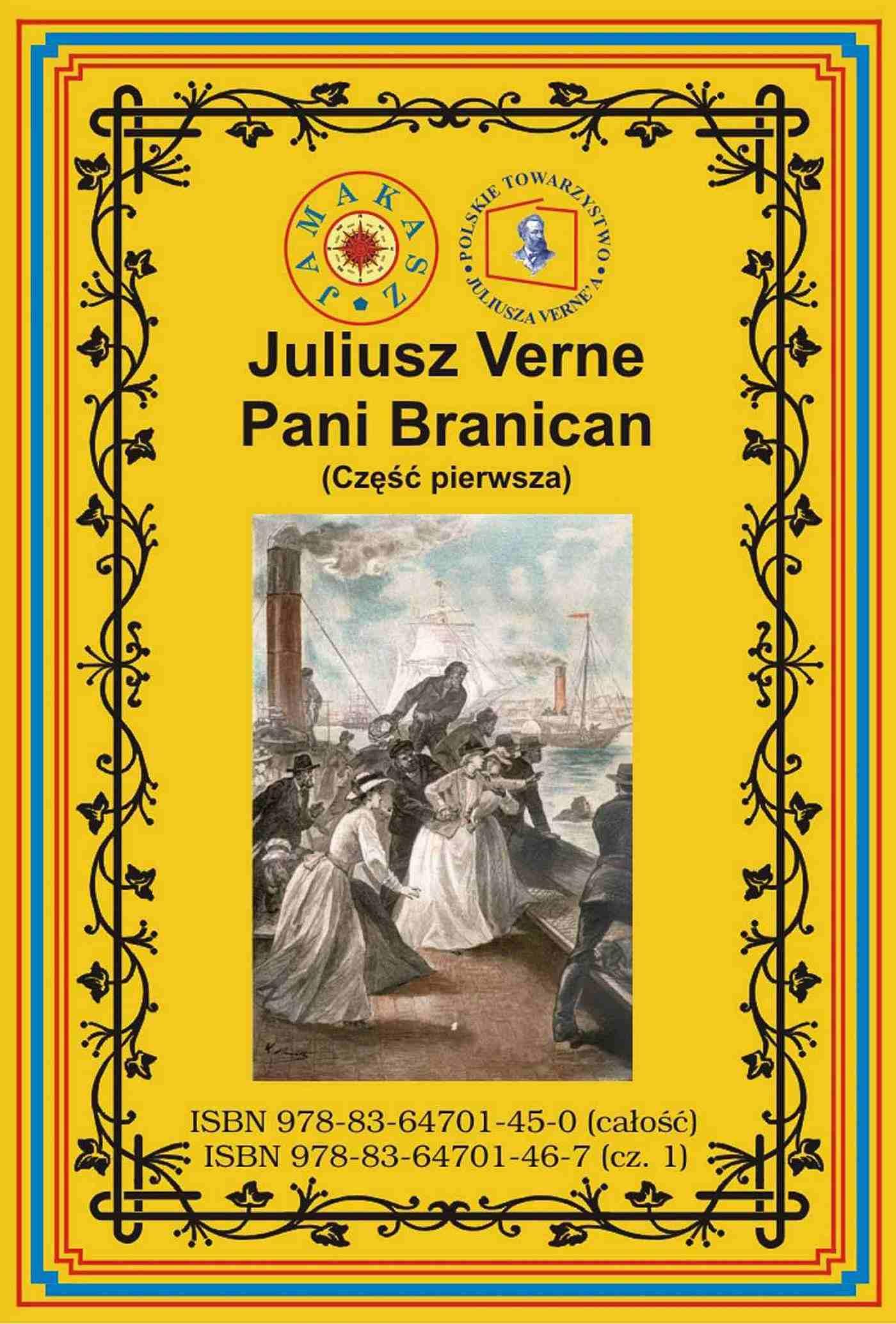 Pani Branican. Część pierwsza - Ebook (Książka EPUB) do pobrania w formacie EPUB