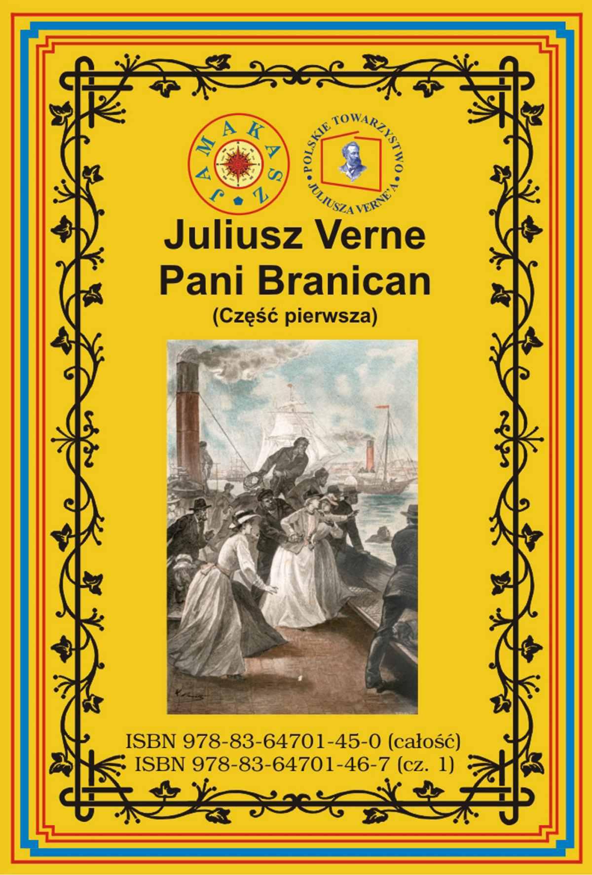 Pani Branican. Część pierwsza - Ebook (Książka na Kindle) do pobrania w formacie MOBI